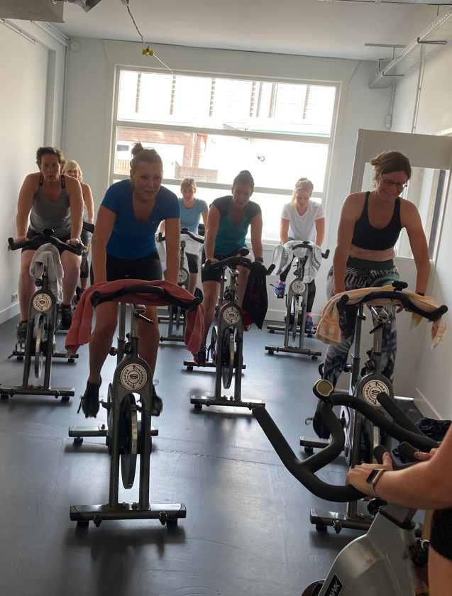 Spinning bij Feel Good Fitness Factory