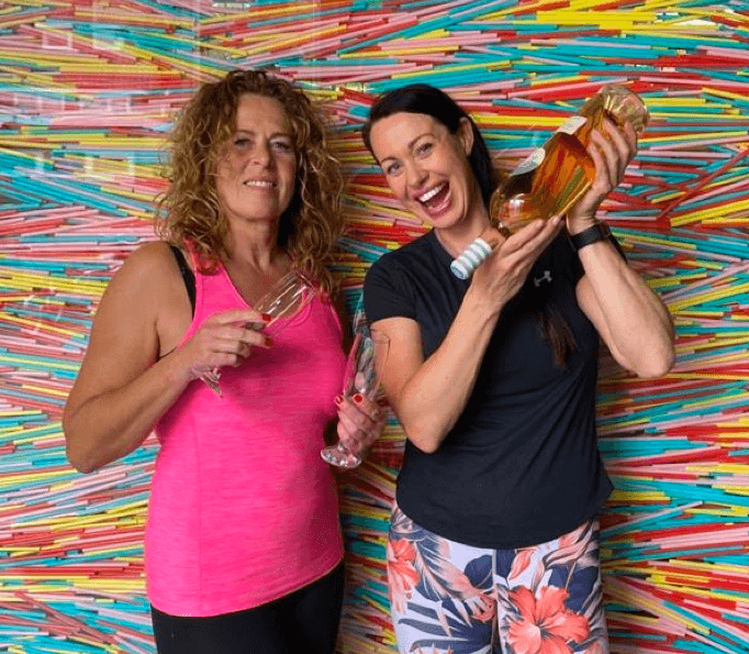 Monique en Irma van Feel Good Fitness Factory