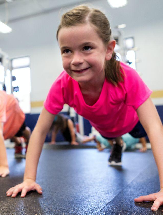 Sporten voor kids van 10 tot 12 bij Feel Good Fitness Factory