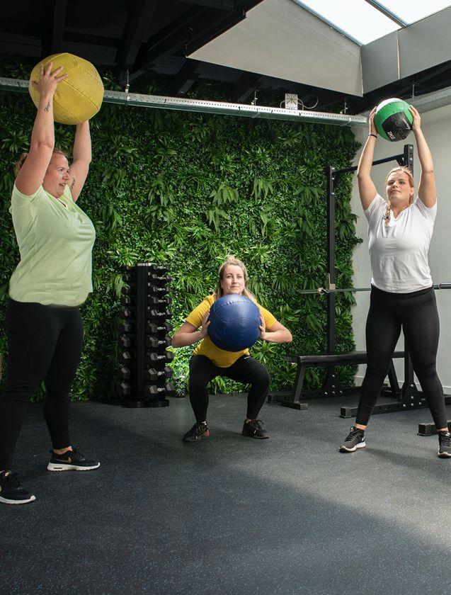 Fitness voor vrouwen bij Feel Good Fitness Factory
