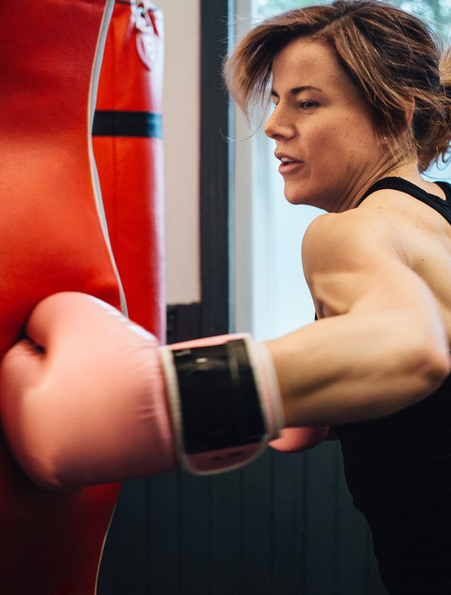 Kickboksen voor vrouwen bij Feel Good Fitness Factory