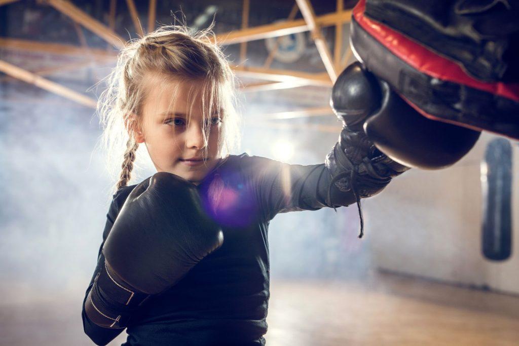 Kickboksen voor kinderen bij Feel Good Fitness Factory