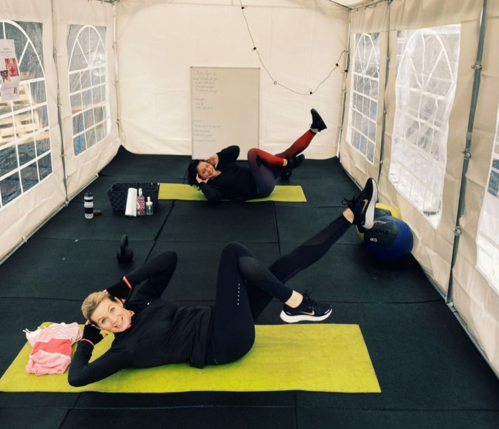 Buiten trainen - Feel Good Fitness Factory