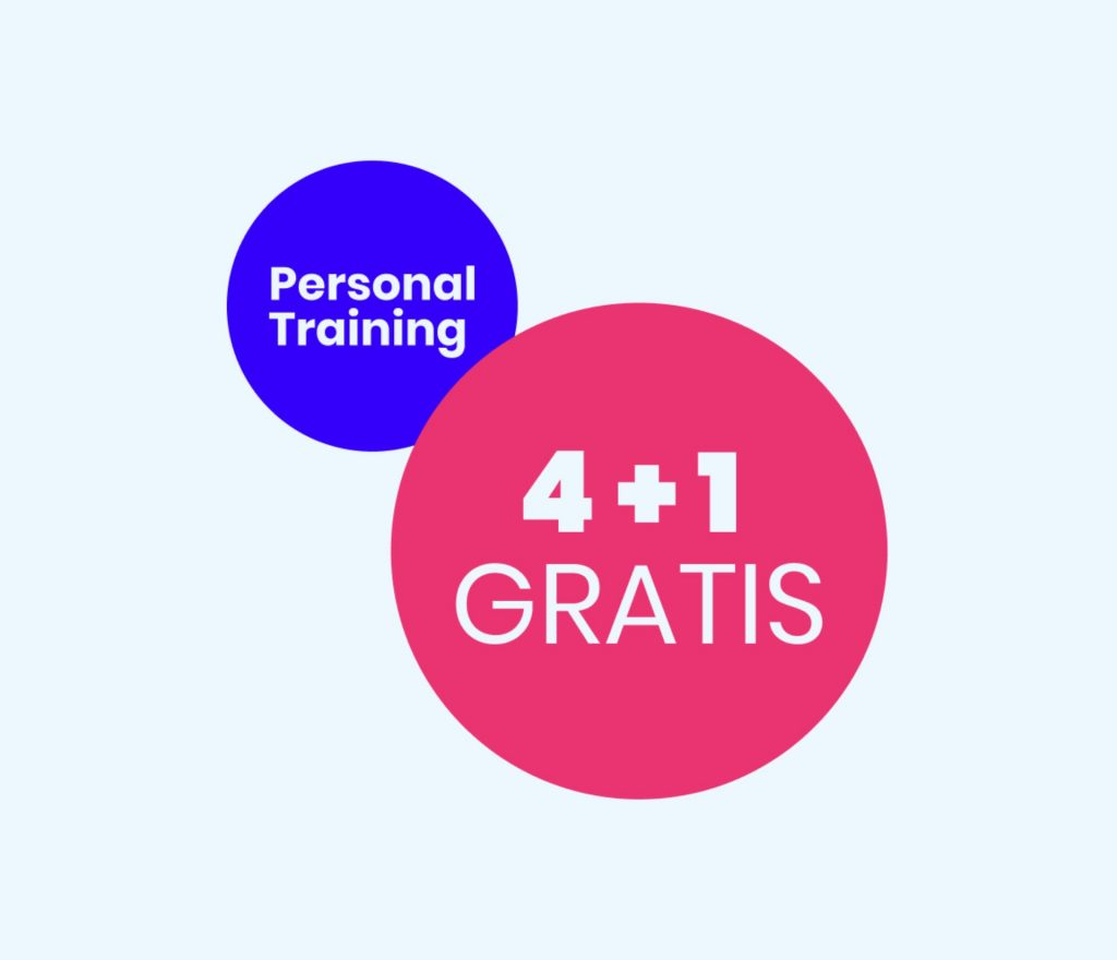 Pesonal Training - 4 + 1 gratis - Feel Good Fitness Factory
